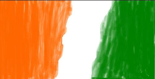 India_flag_background